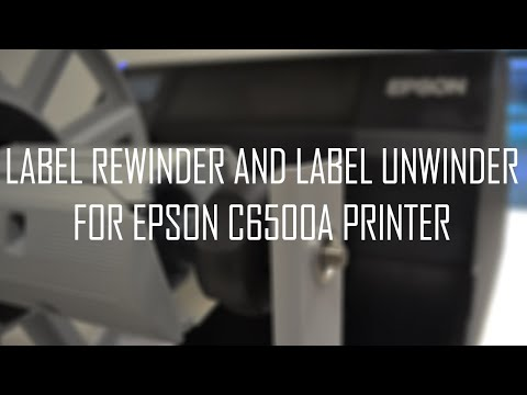 DPR Roll to Roll System for Epson C6000A & C6500A Printers video thumbnail