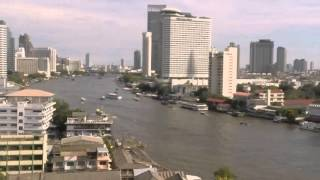 2015-05-15 Timelapse - Boats on the Chao Phraya River, Bangkok