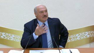 Лукашенко в медуниверситете: врачей поддержим не только ростом зарплат, но и жильём