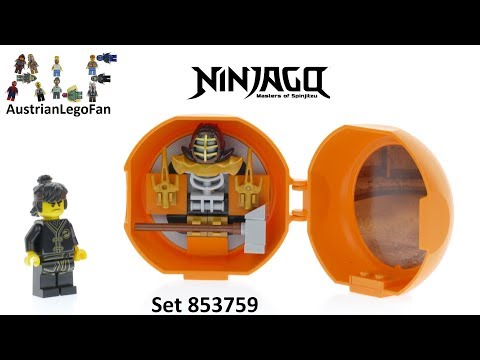 Vidéo LEGO Ninjago 853759 : Capsule Entraînement au kendo de Cole