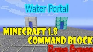 Rome Gamer Minecraft 18  วิธีการทำประตูวาปน้ำ Water Portal