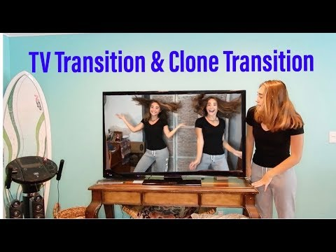 How to do the TV & Clone Transition on Musical.ly!