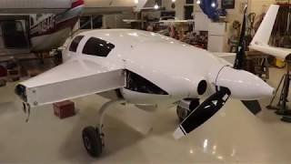 Monster CORVETTE LS-3 Engine on a VELOCITY Kitplane!