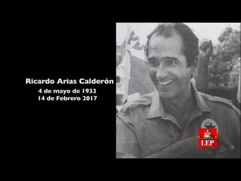 Fallece Ricardo Arias Calderón