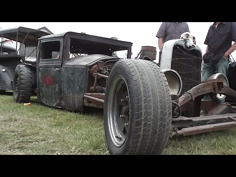 Lust for Rust - Rat Rods at Muscle Car Madness 2017