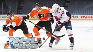 NHL Stanley Cup Round Robin: Capitals vs. Flyers | EXTENDED HIGHLIGHTS | NBC Sports