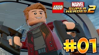 LEGO Marvel Superheroes 2 - Part 1 - Kang Attacks! (HD