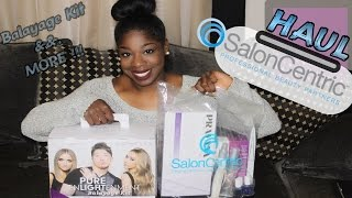 Salon Centric Haul: Pravana Hair Color, Guy Tang Balayage Kit, Biosilk, Essie Nail Polish and More !