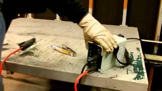 Harbor Freight 80 amp inverter arc welder #91110