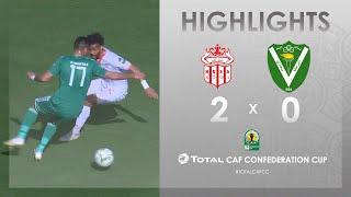CC CAF : Hassania Agadir 2-0 El Nasr
