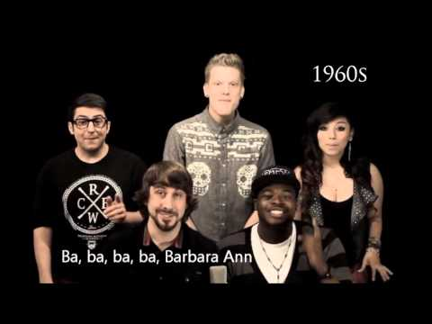 Pentatonix - Evolution Of Music (LYRICS WITH VIDEO) Mp3