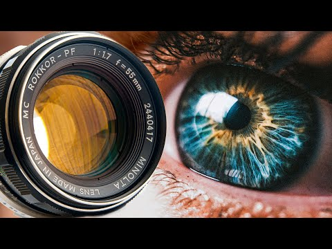 How to Shoot Ultra-Sharp Macro Photography for Cheap : Reverse Vintage Lens
