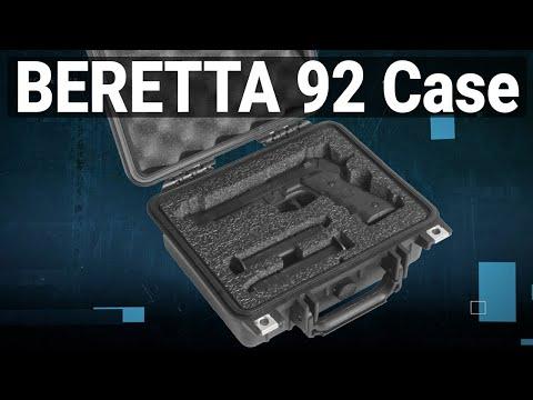 Beretta 92 Pistol Case - Featured Youtube Video