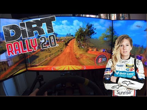 Rally Driver tries out Dirt Rally 2.0