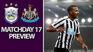 Huddersfield v. Newcastle | PREMIER LEAGUE MATCH PREVIEW | 12/15/18 | NBC Sports | Kholo.pk