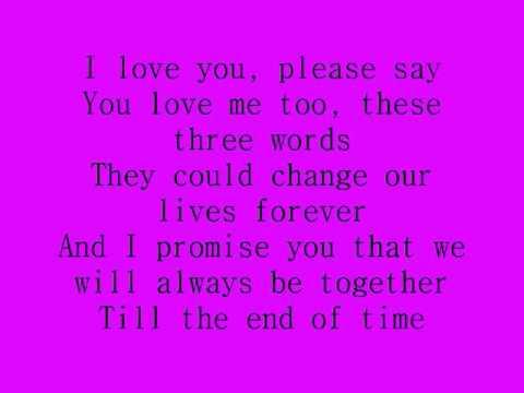 Celine Dion - I Love You tekst lyrics | Tekstovi Pesama