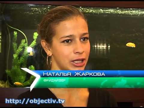 Харьковчанка установила рекорд по фридайвингу