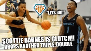 SCOTTIE BARNES DROPS TRIPLE DOUBLE IN DALLAS!! | Clutches Up vs DJ Steward to Secure PEACH JAM BIRTH