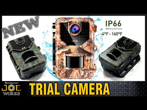 Cámara de Caza Visión Nocturna Sesern E2 Trail Camera - Unboxing y Review | JOE Works