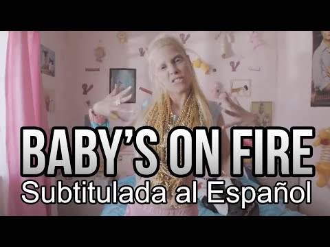 BABY'S ON FIRE - Die Antwoord - Subtitulada (видео)
