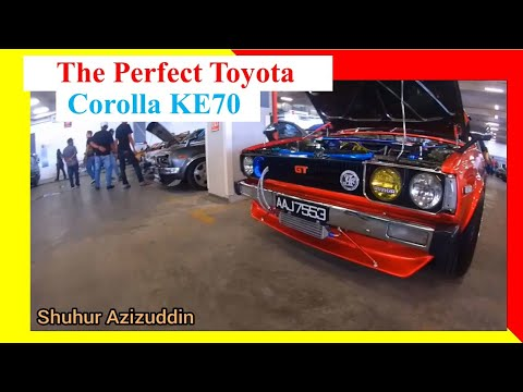 The Most Magnificent Toyota Corolla KE70 :- I just wrote a song for Ke70