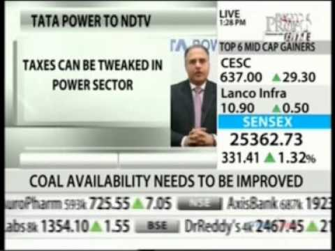 Mr. Anil Sardana - MD Tata Power shares some interesting Ideas with NDTV