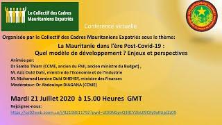 CCME : La Mauritanie dans l'ère Post Covid 19 En Entier