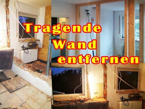 Tragende Wand entfernen und Sturz einbauen - Stahlträger selber ...