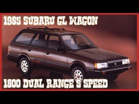 SOLD 1985 SUBARU GL WAGON FWD 4X4 DUAL RANGE (D/R) 5 SPEED SOLD