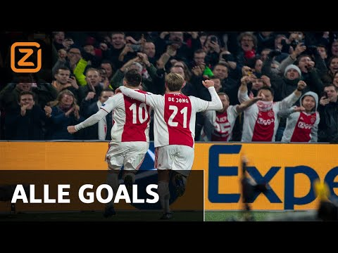 Alle Ajax-goals in de groepsfase van de Champions League