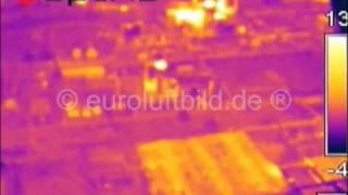 preview picture of video 'Infrarotaufnahme BASF Werksgelände / Infrared shot business premises Schwarzheide'