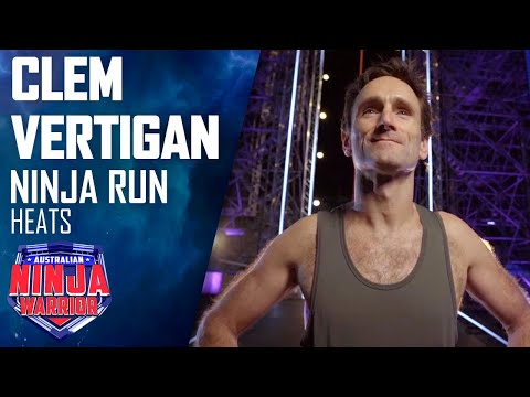 Clem Vertigan proves age is just a number as he tackles the course | Australian Ninja Warrior 2020