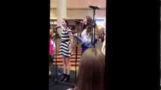Cimorelli performs The Way We Live at Woodfield Mall