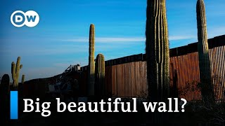 What is the impact of Trump's border wall?   DW News