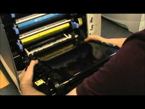 HP 4700 - How To Replace The Transfer Kit Mp3