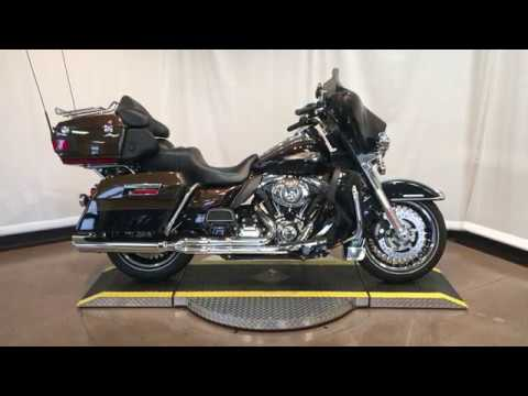 2013 Electra Glide Ultra Limited Anniversary FLHTK ANV