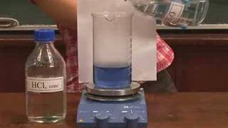 Equilibrium in cobalt(II) chloride solution