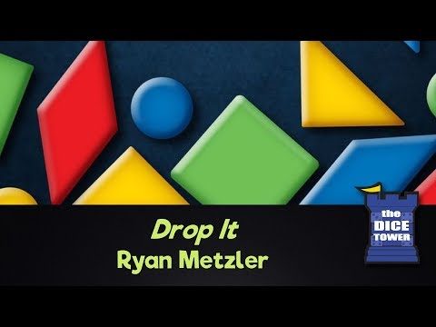 Dice Tower Reviews: Drop It - w/ Ryan Metzler