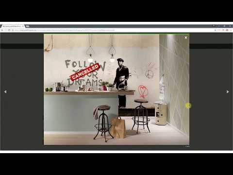 Fototapete selbst gestalten - Graffititapete von Banksy & Co. selbst erstellen