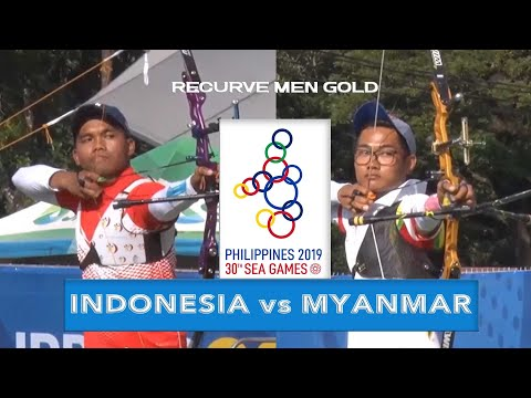 INDONESIA vs MYANMAR | Recurve Men Gold Final | ARCHERY SEA GAMES 2019