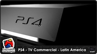 PlayStation 4 - TV Commercial - Latin America (2013)