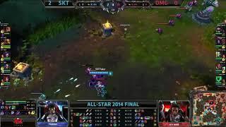 OMG vs SK Telecom T1 K   Game 3 Grand Finals All Star 2014   SKT T1 K vs OMG G3 MUST SEE