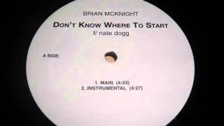 RTQ Brian Mcknight ft Nate Dogg - Don't know where to start RTQ