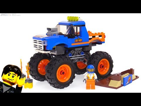 LEGO City 2018 Monster Truck Review! 60180