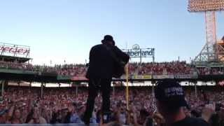 """Zac Brown Band """"It's Not Ok"""" at Fenway Park 6/27"""