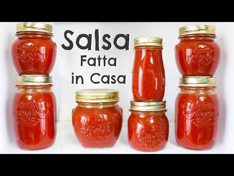 Conserva di Salsa di Pomodoro Fresco Fatta in Casa | Ricetta Completa | 55Winston55