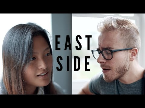 Eastside - Halsey, Khalid, Benny Blanco (Acoustic Cover by Marina Lin ft. Jonah Baker)