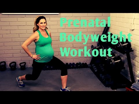 25 Minute Prenatal Bodyweight Workout---No equipment workout for 1st, 2nd and 3rd Trimesters letöltés