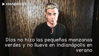 Little Green Apples - Robbie Williams (Traducida al Español) ft. Kelly Clarkson