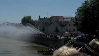 preview picture of video '150. Jähriges FFW Neuburg an der Donau 150th FFW-year Neuburg an der Donau'